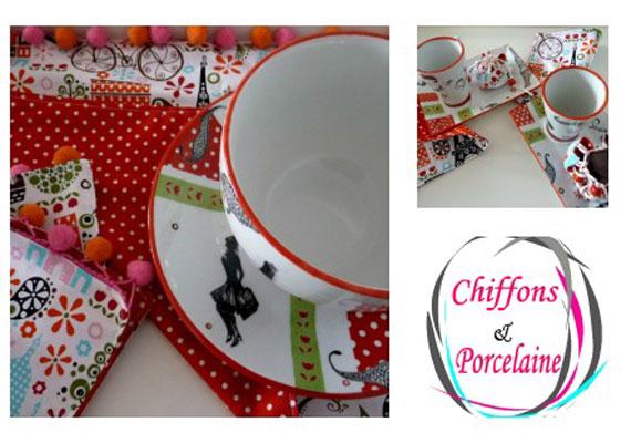 Le café gourmand par Chiffons et Porcelaine