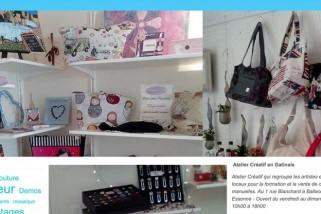 Atelier couture créative à Ballancourt