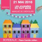 Les Journées du fait main à Bordeaux – 21/05/2016