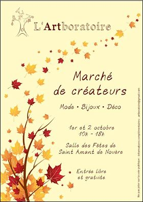 Marché artisanal organisé par l'association l'Artboratoire