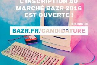 Candidature pour Marché de Noël du Festival BAZR à Sète