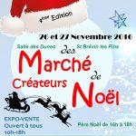 Marché des Créateurs de Noël à St Brévin Les Pins