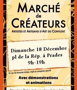Marché de Noël féérique à Prades