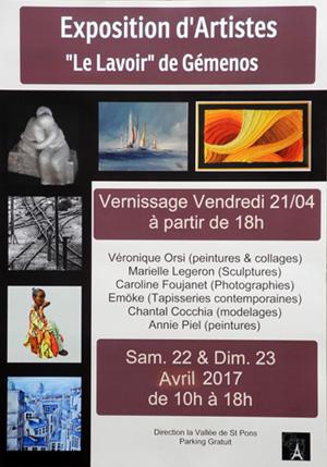 Expo d'Artistes à Gemenos
