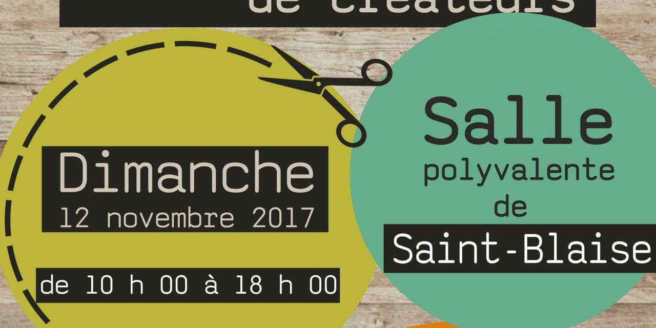 Marché de créateurs à Saint-Blaise