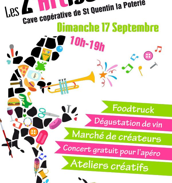 Marché de créateurs à St Quentin la Poterie (30)