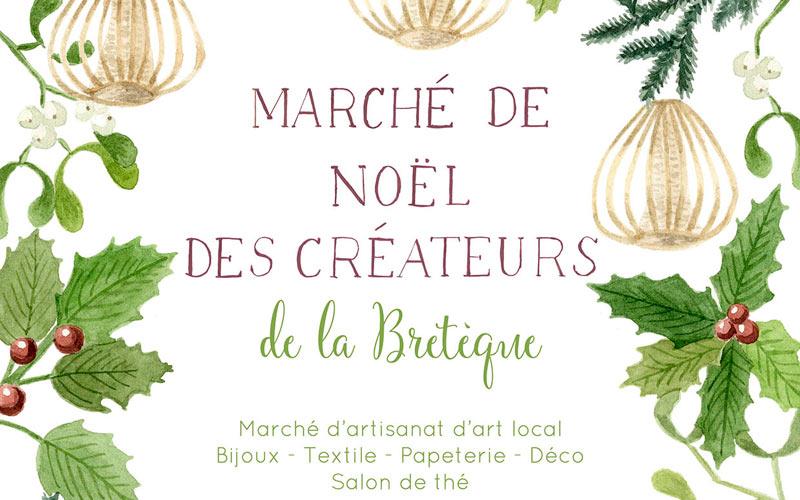 March de no l des cr ateurs de la bret que dition 2017 for Marche de noel salon de provence