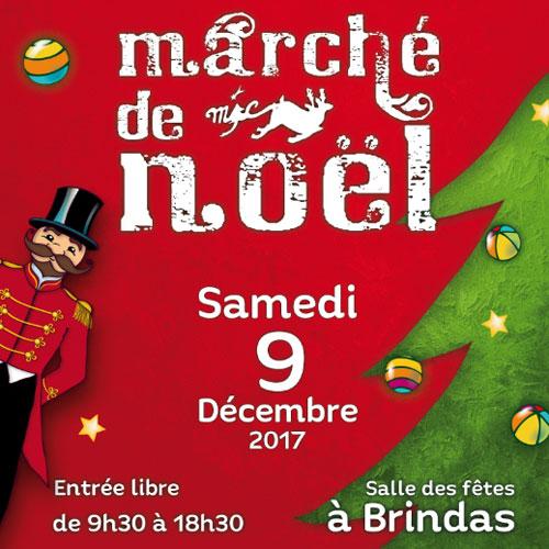 Marché de Noël à Brindas