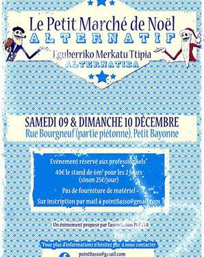 Candidature marché de créateurs à Bayonne