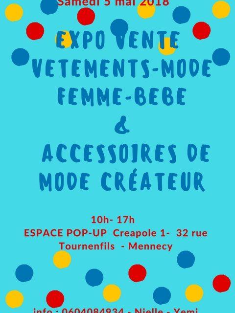 Expo-vente de création à MENNECY