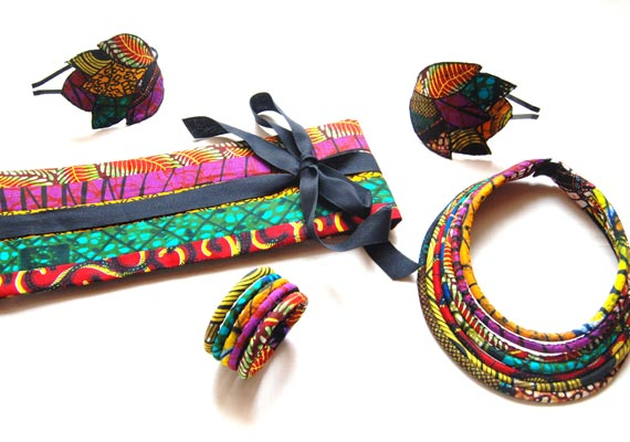 Soleil et couleur avec les bijoux KuMBhaKa