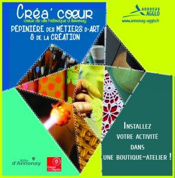 Pépinière des métiers d'art et de la création à Annonay