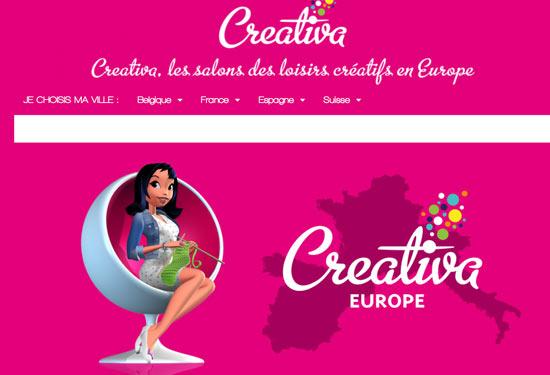Dates des salons creativa en france en 2017 for Salon creativa montpellier 2017