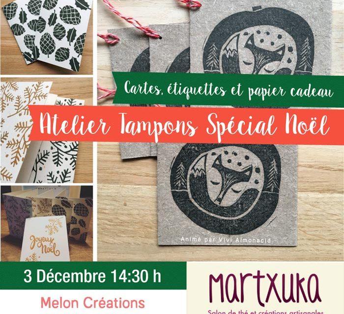 Atelier Tampons Spécial Noël