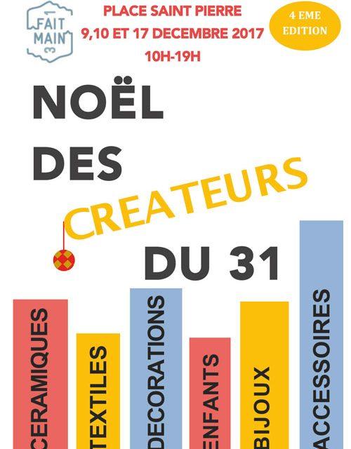 Noel des créateurs organisée par Fait Main 31