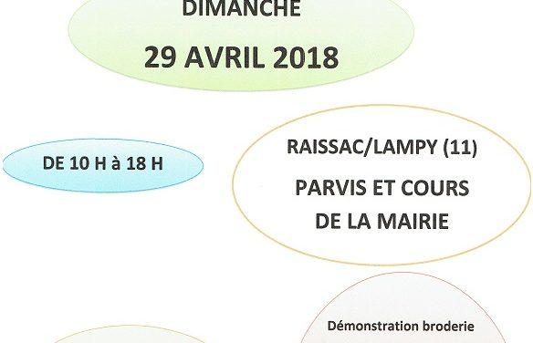 1er marché artisanal du fait main à Lampy (11)