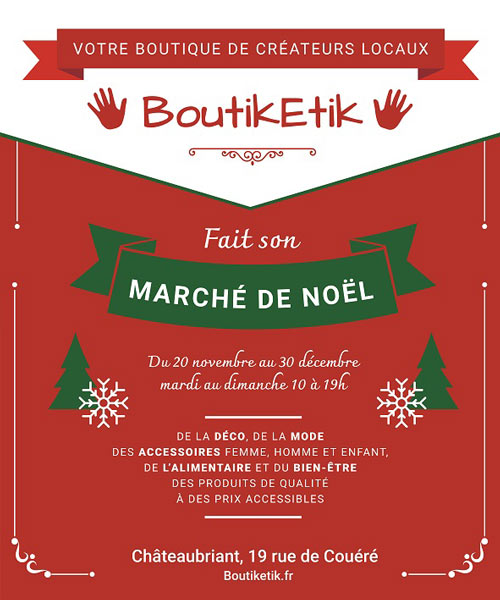Marché de Noël de la BoutikEtik