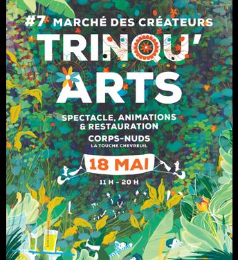 Trinqu'Arts, marché de créateurs, 7ème édition (Rennes 35)
