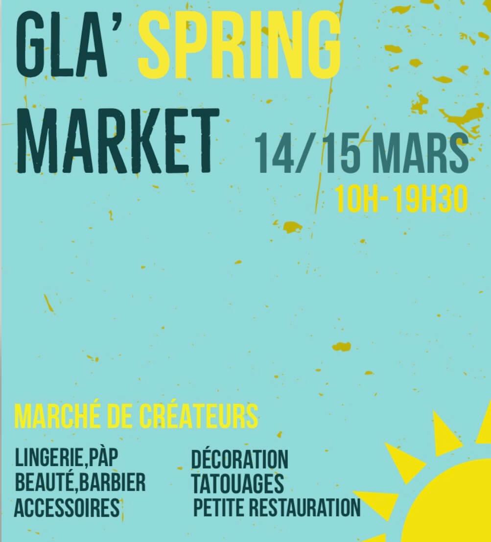 Marché de créateurs de printemps