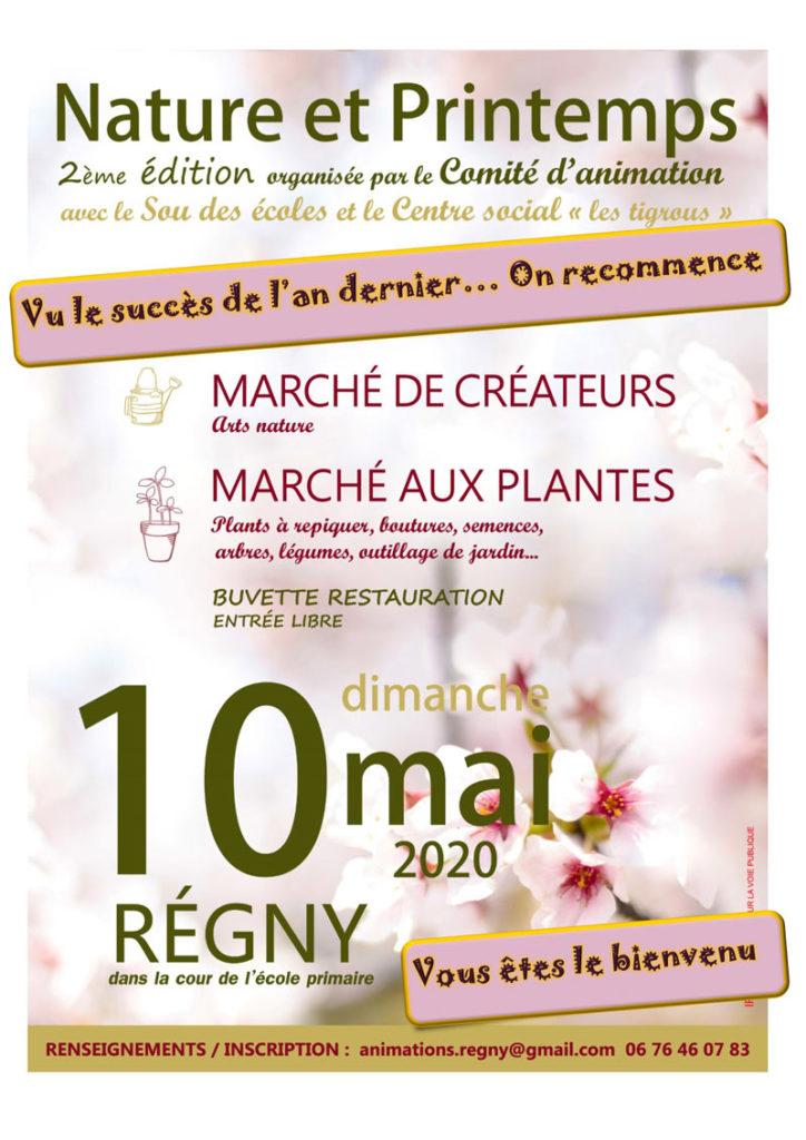 """2ème édition """"Nature et Printemps"""" en mai 2020"""