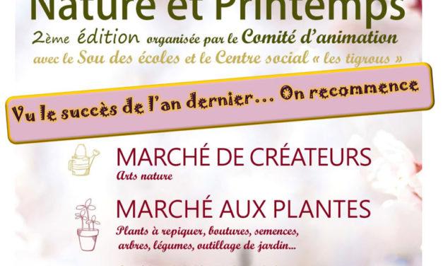 Marché de Créateurs «Nature et Printemps»
