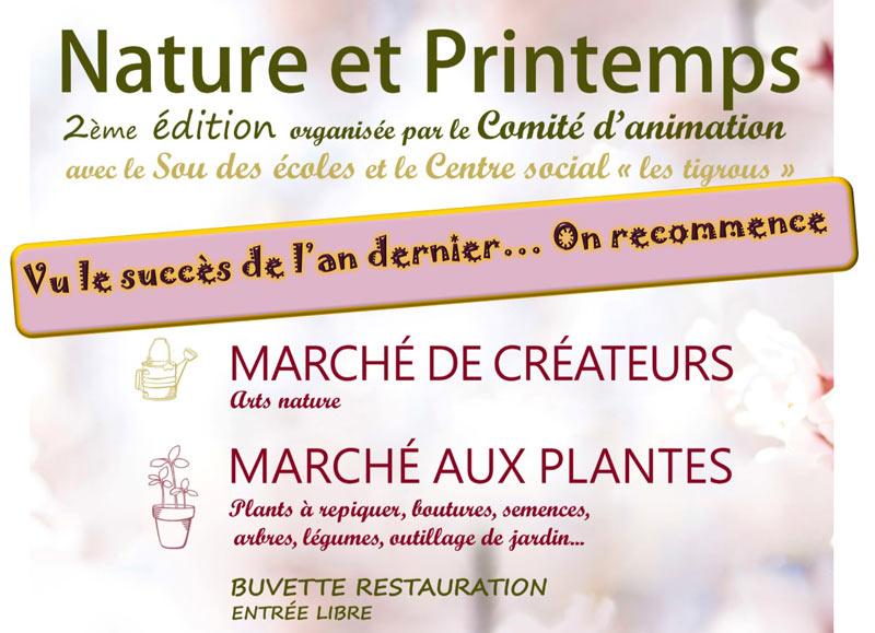 """2ème édition """"Nature et Printemps""""."""